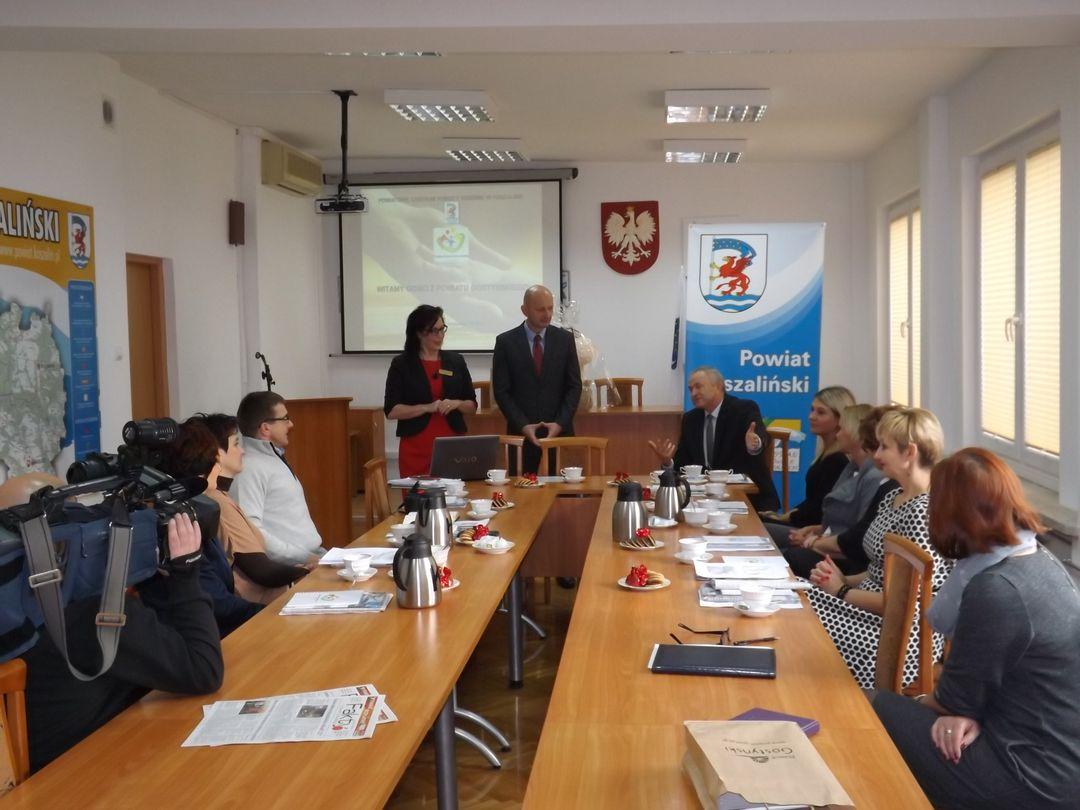 Więcej o: Wizyta studyjna przedstawicieli Powiatu Gostyńskiego