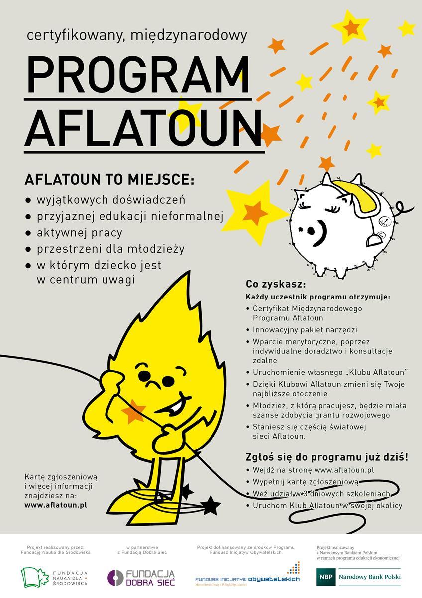 Więcej o: Program edukacji  społeczno – finansowej Aflatoun