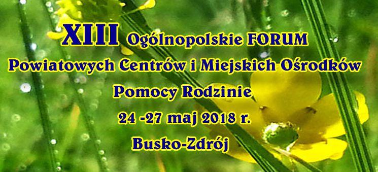 Więcej o: Forum PCPR w Busku-Zdroju