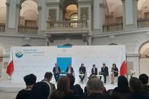 Sesja plenarna -wystąpienie Mirosławy Zielony