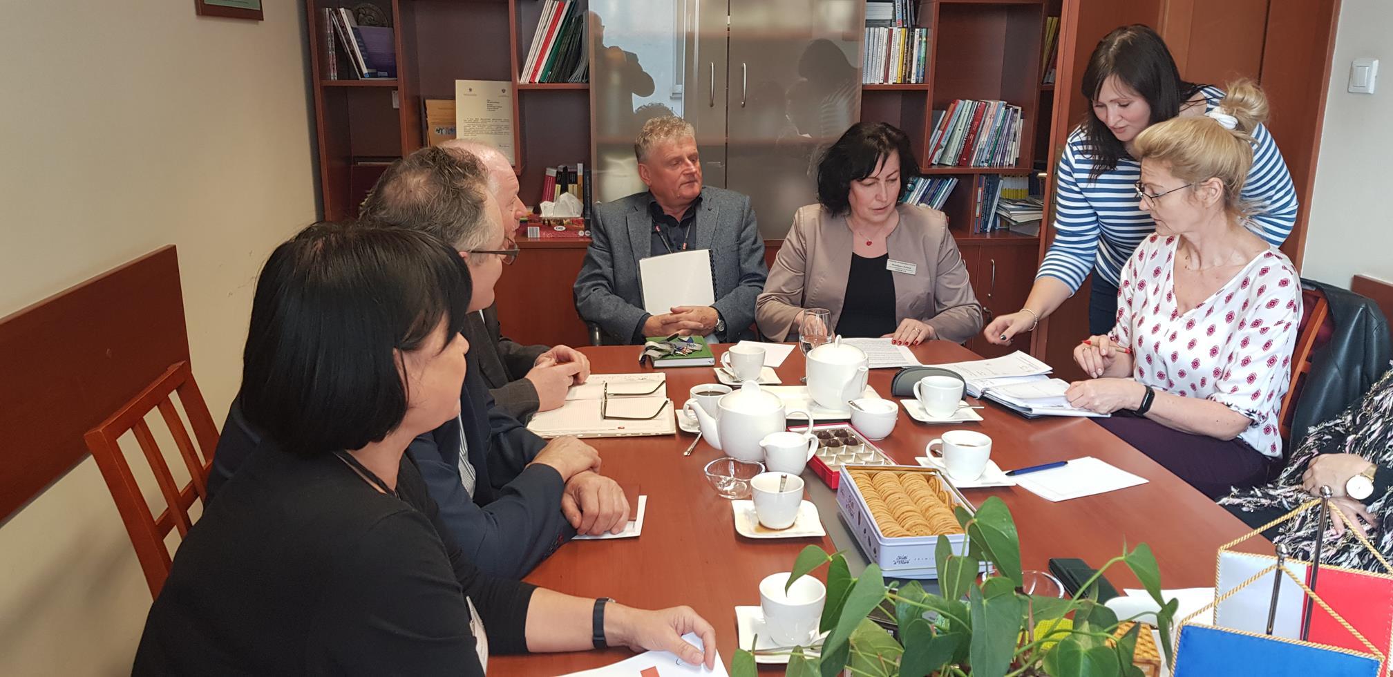 Więcej o: Spotkanie kierownictwa PCPR z dyrektorami DPS