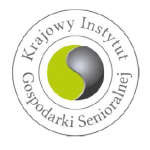 Logo Krajowego Instytutu Gospodarki Senioralnej
