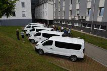 Nowe busy na parkingu Starostwa