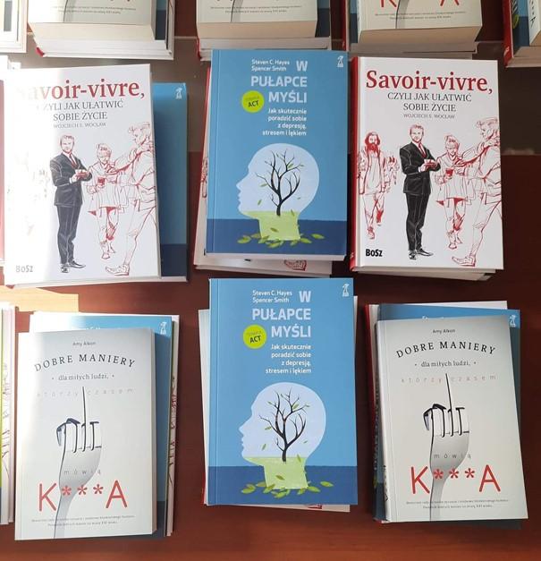 Książki zakupione przez PCPR